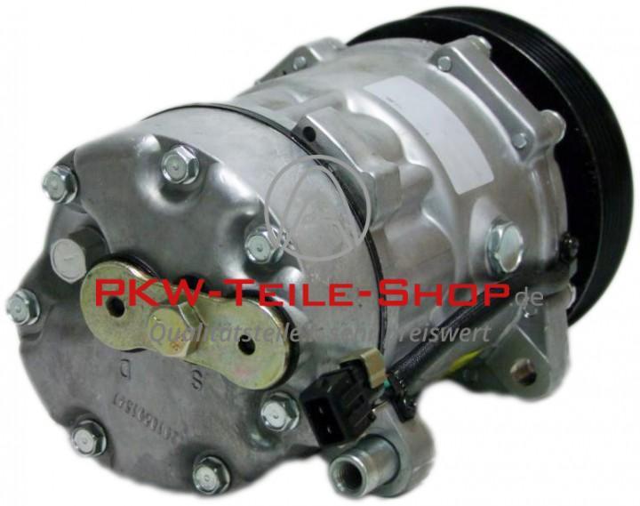 Klimakompressor VW Transporter T4 2.5 D (Leitungsanschluss mittig mit einer Schraube befestigt)
