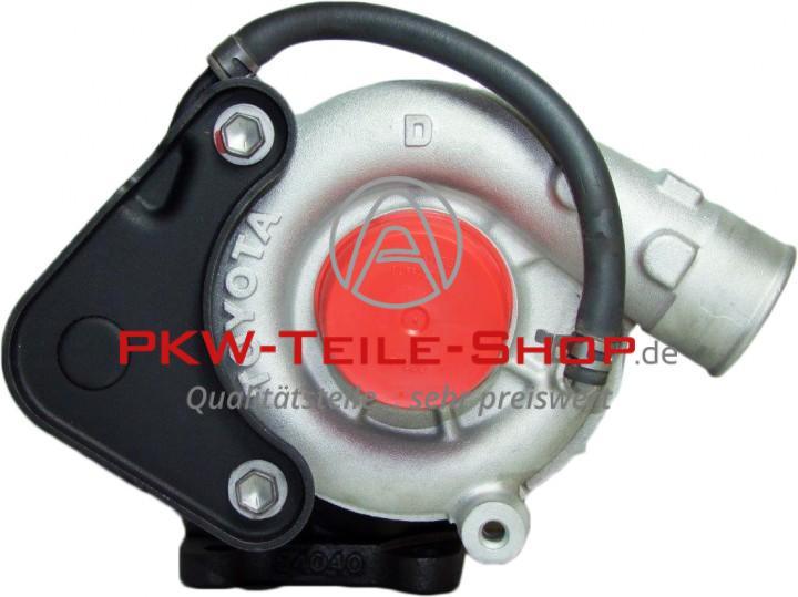 Turbolader Toyota Hiace IV 2.4 TD Land Cruiser 2.4 TD