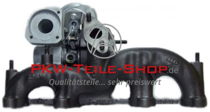Turbolader AUDI A3 1.9 TDI VW Golf IV 1.9 TDI 4motion