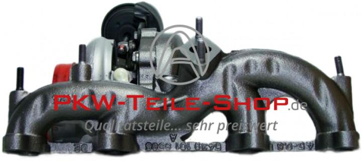Turbolader Alhambra Sharan 2.0 TDI 103 KW