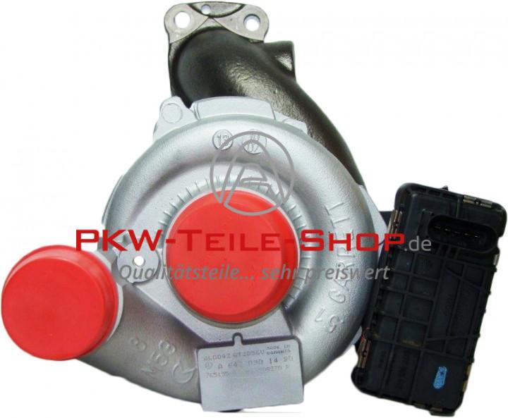 Turbolader Mercedes E-Klasse M-klasse 280 CDI 320 CDI inkl. Dichtungen