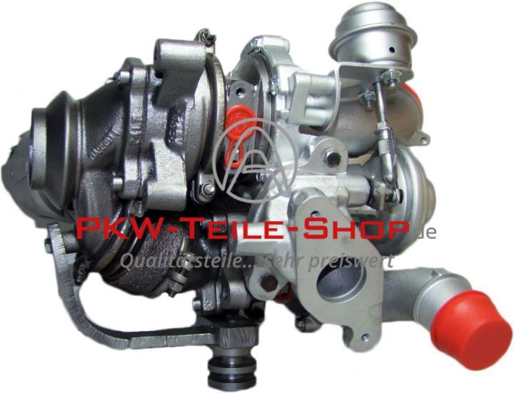 Turbolader Citroen C5 C6 C8 Peugeot 407 607 807 2.2 HDi