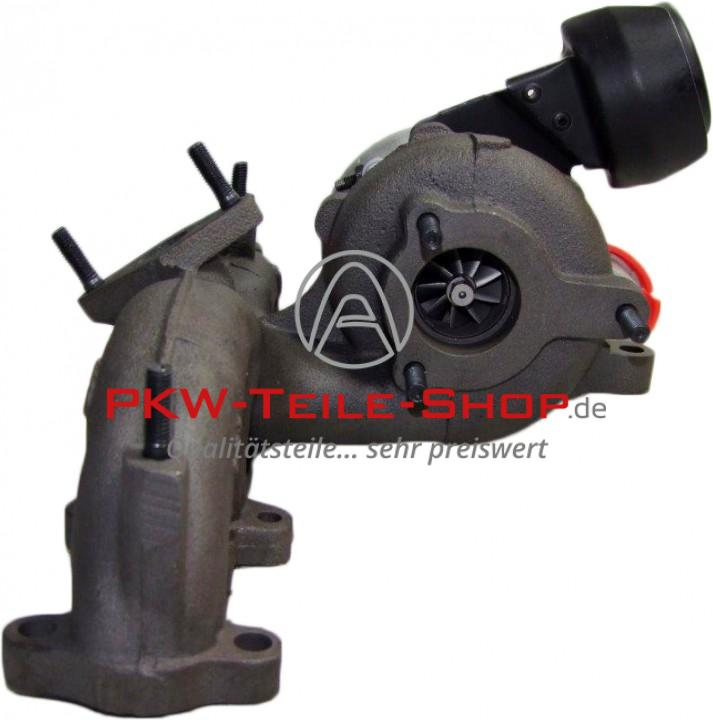 Turbolader VW Sharan Seat Alhambra 2.0 TDI ohne DPF
