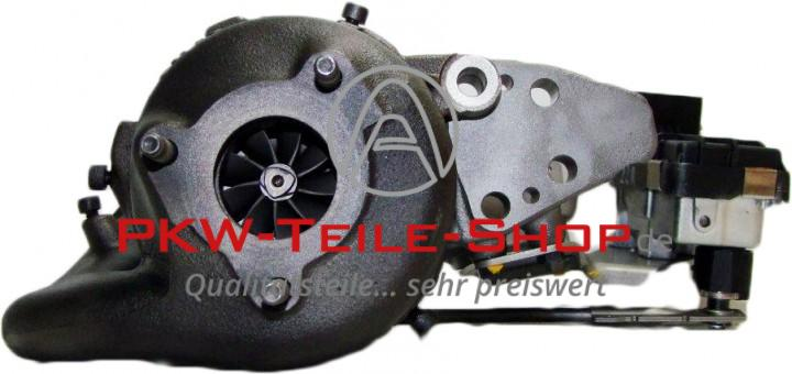 Turbolader VW Touareg 5.0 V10 TDI links