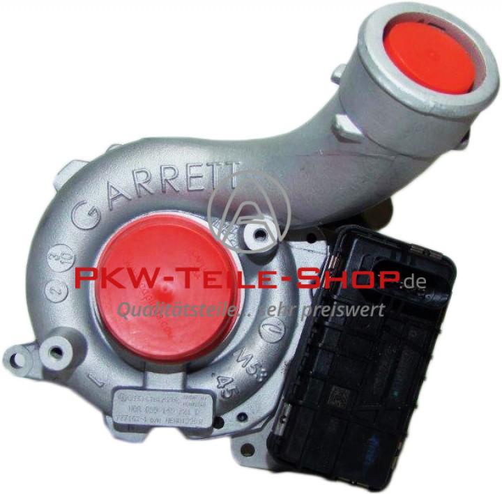 Turbolader AUDI A6 2.7 TDI 163 190 PS