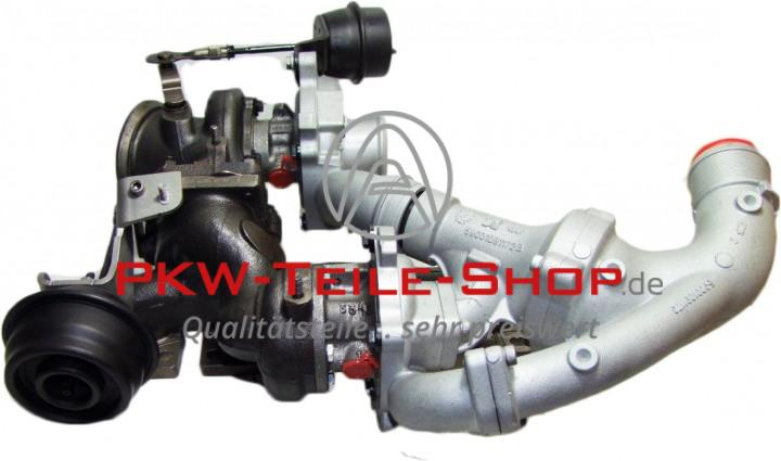 Turbolader Saab 9-3 9-5 1.9 TTiD Cadillac BLS 1.9 D