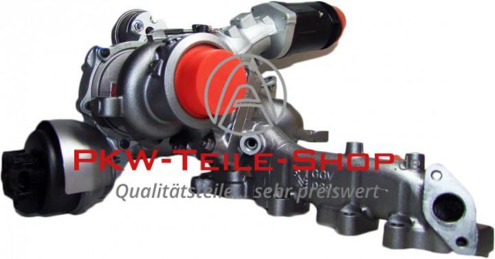 Turbolader VW Amarok 2.0 BiTDI 163 PS